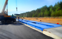 Придорожная установка автомобильных весов ВАЛ 100 тонн. фото #48
